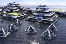 Kota terapung di tengah lautan akan terwujud pada 2020 mendatang