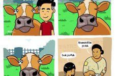6 Komik binatang kurban pamitan ini bikin perasaan campur aduk