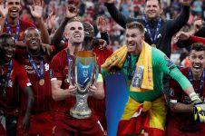 Setelah sekian lama, Liverpool raih gelar UEFA Super Cup