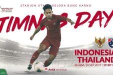 Matchday kedua, Indonesia kalah dari Thailand