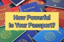 Kekuatan paspor 11 negara di Asia Tenggara versi Passport Index™