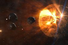 Ini perbedaan antara asteroid, komet, meteoroid, meteor, dan meteorit