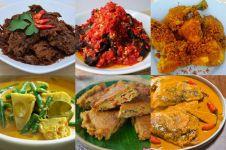6 Menu khas rumah makan Padang yang wajib kamu coba