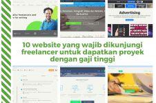 10 Website bagi freelancer untuk dapatkan proyek dengan gaji tinggi