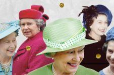 10 Fakta menarik tentang topi unik Ratu Elizabeth