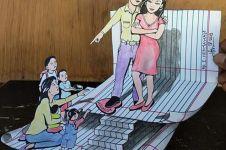 8 Gambar ilustrasi kehidupan zaman sekarang ini bikin ngelus dada