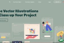 9 Website download ilustrasi gratis buat bahan desainmu