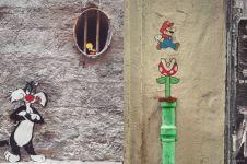 Seniman ini mengubah 8 dinding menjadi karya seni yang menakjubkan