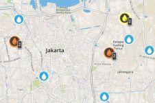 Jakarta banjir lagi, situs ini bisa membantumu mengecek titik bencana