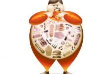 Hati-hati, makan terlalu cepat dapat menyebabkan obesitas