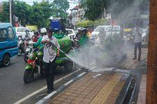 Efektifkah penyemprotan disinfektan di jalanan? Ini penjelasannya