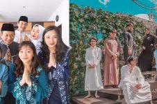 7 Potret seleb rayakan Lebaran bareng keluarga, sibling goals banget