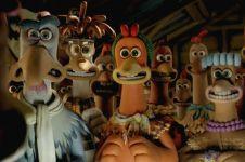 Aksi kocak 7 tokoh ayam dalam film kartun populer, seru buat ditonton