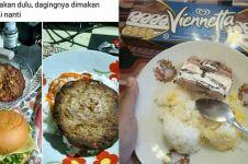 9 Kelakuan lucu orang Indonesia saat makan nasi ini bikin ngakak