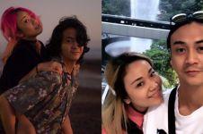 Jarang tersorot, ini 7 potret romantis aktor Dimaz Andrean dan istri