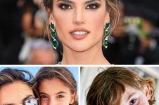 Cantik dan tampan, ini potret anak dari 4 model ternama dunia