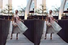 7 Potret anggun Yuki Kato kenakan dress yang curi perhatian