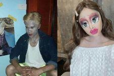 8 Potret orang dengan make up berlebihan ini bikin tepuk jidat