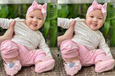 8 Potret baby Numa, putri bungsu Mona Ratuliu yang cantik dan imut