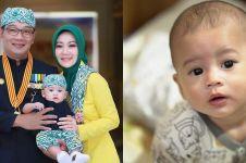 12 Potret menggemaskan anak bungsu Ridwan Kamil yang kini jadi idola