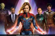 Potret representasi feminisme superhero perempuan Captain Marvel