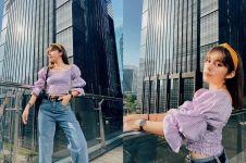 Dulu dikenal tomboi, 7 gaya Fay Nabila eks IMB kini feminin abis