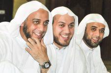 7 Momen Syekh Ali Jaber saat mengenakan gutrah, wajah teduh memesona