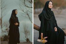 6 Potret elegan Laudya Chintya Bella saat kenakan outfit serba hitam