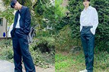 Bertubuh tinggi, 12 potret Byungchan VICTON ini bikin iri