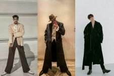 10 Potret menawan Seungwoo VICTON pamer kaki jenjang, bikin terpana