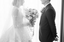5 Potret bahagia pernikahan David Davidson dan Patricia Devina