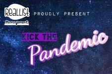 Gelaran musik Kick the Pandemic, hadirkan 8 penampil multigenre
