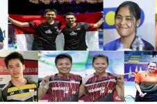 Daftar lengkap pebulu tangkis Indonesia di Olimpiade Tokyo, Juli 2021