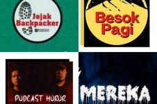 4 Rekomendasi podcast horor untuk temani tidur malam kamu