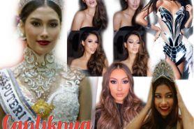 8 Potret cantik Frederika Alexis Cull, Puteri Indonesia 2019