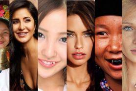 Unik, 10 negara ini punya standar kecantikan yang berbeda-beda