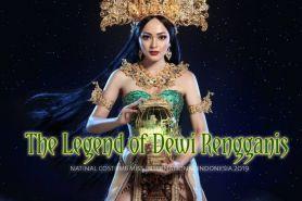 Begini keindahan national costume Miss International Indonesia 2019
