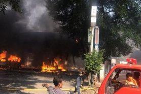 Ini penjelasan Pertamina soal SPBU yang terbakar di Cipayung