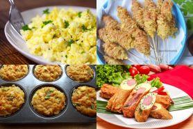 4 Camilan berbahan telur ini bisa dibuat di rumah, mudah banget