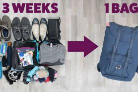 5 Tips agar nggak repot dengan barang bawaan saat traveling