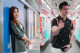 Gaya 8 seleb Tanah Air saat jajal MRT Jakarta, simpel hingga cetar