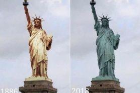 5 Bangunan landmark dunia dulu dan kini
