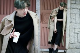 12 Potret behind the scene Seungwoo VICTON di majalah Esquire Korea