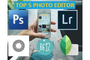 5 Aplikasi edit foto paling kece yang harus ada di smartphone kamu