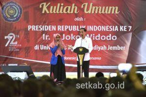 6 Pertanyaan ini sering diajukan Presiden Jokowi dalam kuis sepeda