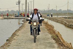 Ini alasan motor trail tunggangan Jokowi cocok buat blusukan