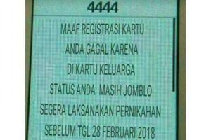 11 Meme gagal registrasi SIM Card ini bikin susah nahan tawa