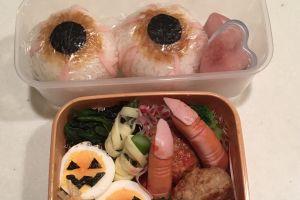 6 Menu bento tema seram ini bikin anak-anak nggak doyan makan