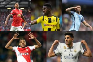 5 Wonderkid paling konsisten di jagat sepak bola dunia saat ini.