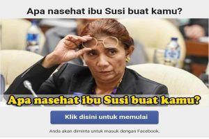 10 Hasil 'kuis nasihat Ibu Susi' ini bikin nggak bisa nahan tertawa